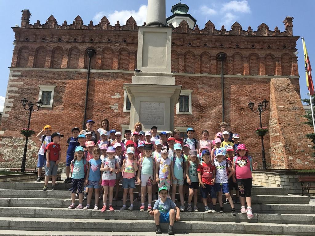 Wycieczka przedszkolaków do Sandomierza