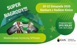 20-22 listopada 2020 Konkurs z Radiem Kielce grafika wyróżniająca